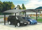 Aluminium Frame Two Car Carport , High Wind Resistance Free Standing Carport