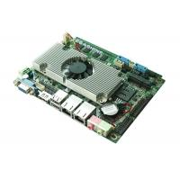 China 6 COM 8 USB , Dual LAN , 3.5 Embedded Motherboard Dual Core Atom D2550 CPU on sale