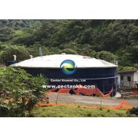 China Excellent corrosion resistant glass lined water storage tank with roof on sale