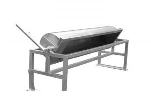 China High Capacity Stainless Steel Water Trough With Turnover Drainage on sale