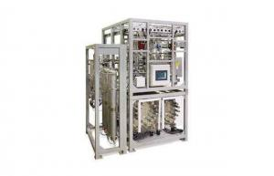 China Automatic O2 H2 Hydrogen Generation Plant With PLC System 99.999% 30 m3/h on sale