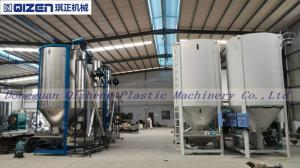 China Industrial Large Plastic Mixer Machine For Pellet Spiral Stirring Type on sale