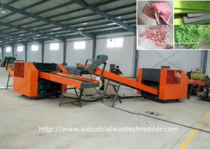 China Automotive Industrial Shredder Machine Interior Cushions Seat Cover Foot Pad Waste Recycling on sale