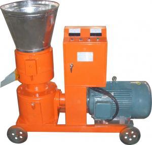 China 15kw/30hp Electric/diesel Pellet Mill, flat die pellet press KJ-ZLMP260 on sale