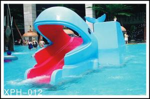 China Industrial small amusement raft rides , fiberglass pool slide for Kids Water Park on sale