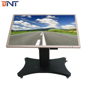 China used in horizontal design suitable 46-75 inch  touch all in one machine tv mobile cart on sale