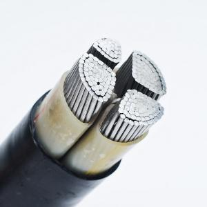 China Middle Voltage Pvc Insulated Power Cable YJV YJLV VV VLV Armored Cable on sale