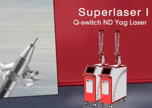 China 1064nm / 532nm Q Switch Nd Yag Laser Tattoo Pigmentation Removal Birthmark Removal Machine For Clinic on sale