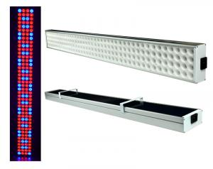 China 3 Feet Hanging Hydroponic Led Grow Light For Growing Plants 70 Watt Power on sale
