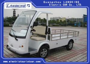 China 28km/H Two Seater Electric Car , Electric Hotel Buggy Car With Cargo on sale