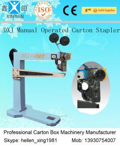 China High Speed Semi-Auto Carton Stapler , Stapler Corrugated Carton Machinery on sale