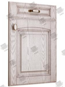 China Waterproof MDF Swing Wooden Moulded Doors PVC Coated Films Architraves on sale