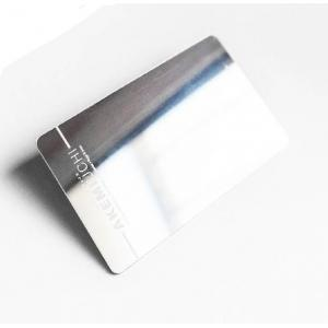 Personal  Square   Plastic Mirror Business Cards  85*54mm / 89*51mm Or Customized