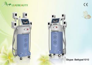 China 4 Handle Cryolipolysis Slimming Fat Loss Equipment / Cellulite Removal Machine on sale