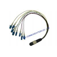 Multi Core Duplex Optical Fiber Patch Cord , Passive / Active Optic Fiber Optic Cable