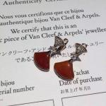 Bvlgari  brand jewelry DIVA earring in 18 kt gold 18k gold jewelry