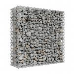 4.0mm Wire Galfan Welded Gabion Box , Retaining Wall Gabion Basket