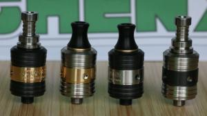 China 800 puff E Cig rda atomic Atomizer with extral three ring for 510 thread on sale