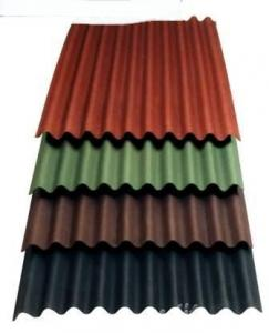China Asphalt roof tile Asphalt Corrugated Roof Panel on sale