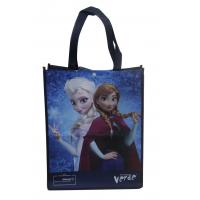 Darkblue 100% enviromental non woven fabric reusable carrier bags water proof