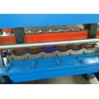 China Concrete Roof Tile Making Machine Hydraulic Cutting Roll Forming Lines For Construction on sale