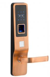 China Delux high-end access biometric touch screen digital smart fingerprint lock on sale