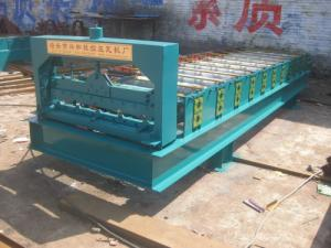 China 機械を形作る屋根の使用およびタイルは冷間圧延製造所屋根のシート成形機械を冷間圧延します on sale