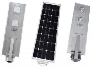 China Motion Sensor Solar LED Street Light 50w Waterproof IP66 Corrosion Resistance on sale