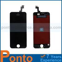 Pontomall Repair Parts LCD Digitizer Assembly Black For iPhone 5S, For iPhone 5s LCD Digitizer Assembly