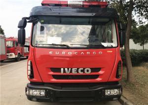 China HALE AP32 2200L / 500L Fire Engine Ladder Truck With 5 Seats , 1.0MPa 32L/S on sale