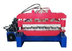 China Newest Design For Wold Wide Market Roofing Sheet Roll Forming Machine With PLC Control on sale