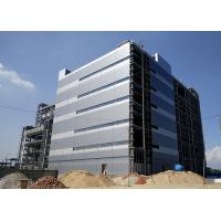 China High Rise Steel Frame Office Building , Prefab Commercial Buildings Bolts Connection on sale