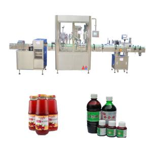 China Touch Screen Automatic Liquid Filling Machine 50ml - 1000ml Filling Volume Available on sale