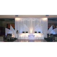 Top Quality Sheer Drapes For Wedding Fabric for kids curtains decorative lighted wall panels