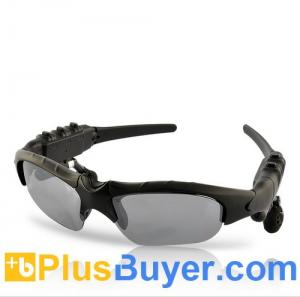 China Gafas de sol con Bluetooth - 4GB del reproductor Mp3 supplier