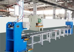 China Gas Hydraulic Booster Press Busbar Bending Machine Double Column Shearing Structure on sale
