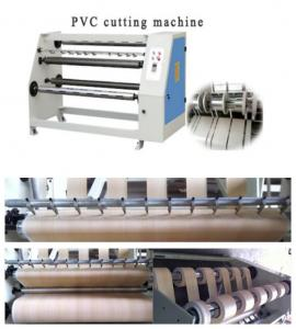 China paper PVC roll slitter rewinder cutting machine on sale