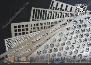 China Special Shape Hole Perforated Metal Sheet / Plate | China Factory / Exporter on sale