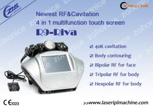 China Biopolar RF Multi Function Beauty Equipment , Cavitation Body Shaping Machine on sale