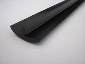 20 FT    7//8  INCH SMOOTH  BLACK  T-MOLDING