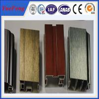 China Supply surface drawing anodized aluminum extrusion, anodising aluminium alloy price on sale