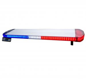 China Emergency Vehicles Police LED Light Bar Roof Rack Dust Proof ISO Approved on sale