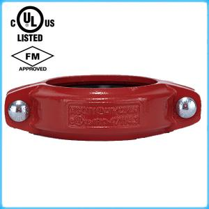 China Grooved pipe fittings Rigid Coupling with UL/FM on sale