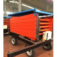 High Working Efficiency Movable Hydraulic Scissor Lift Table,Working Platform