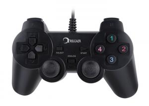 China Double Shock Game Controller Gamepad Joypad Sweat Resistant Ergonomic Design on sale