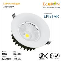 China round recessed ceiling downlight 15w 20w 30w led light cob downlight for hotel lighting on sale