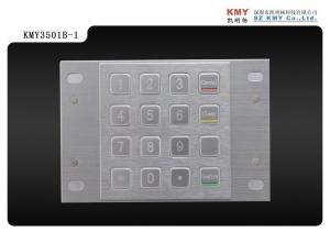 China 3DES/ DES Encryption pin pad ( EPP) ,  ATM pin pad,  Kiosk Metal keypad,  Industrial keypad on sale