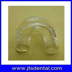 China NO need boiling medical TPE material  teeth whiteing mouth guard mouth tray on sale