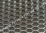 Hexagonal Wire Expanded Metal Mesh Foot Pedal Anti - Skidding