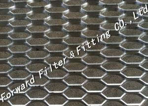 China Hexagonal Wire Expanded Metal Mesh Foot Pedal Anti - Skidding on sale